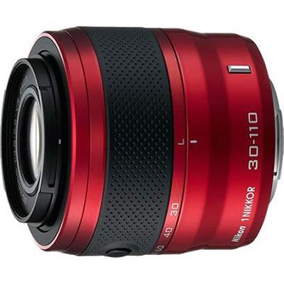 1 NIKKOR 30-110mm f/3.8 - 5.6 VR Lens Red (Refurbished)
