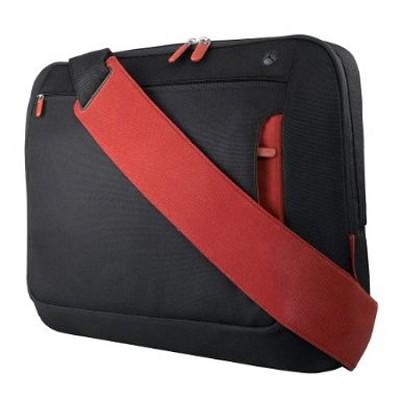 Messenger Bag for Notebooks  up to 15.4` Jet/Cabernet
