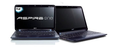 Aspire one 11.6` Netbook PC - Blue (AO751H-1192)