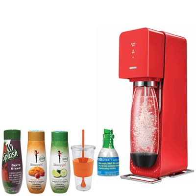 Source Home Soda Maker Starter Kit with Soda Maker Bundle