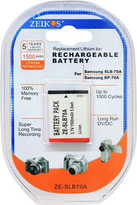 SLB70A Battery for Samsung SL50, SL600, SL605, TL205, TL110, TL105 Cameras