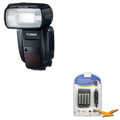 Speedlite 600EX-RT Professional Camera Flash Battery Kit