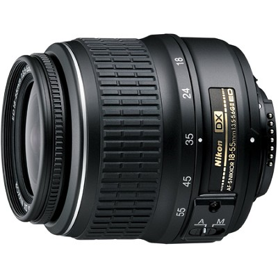 18-55mm f/3.5-5.6G ED II AF-S DX Nikkor Zoom Lens Factory Refurbished
