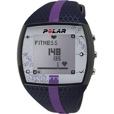 FT7  Heart Rate Monitor Watch - Blue/Lilac - OPEN BOX