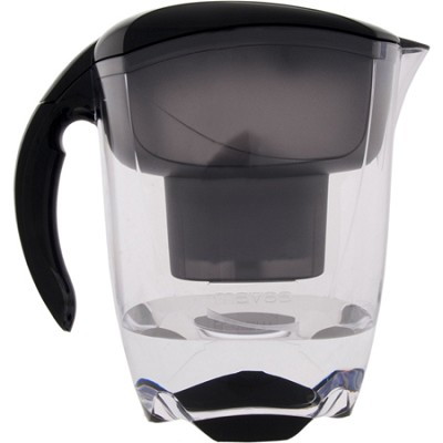 Elemaris XL Water Filtration Pitcher - Black