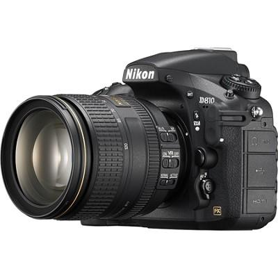 D810 FX-format Digital SLR with 24-120mm f/4G ED VR Lens
