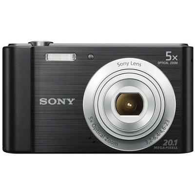DSC-W800/B Point and Shoot Digital Still Camera - Black
