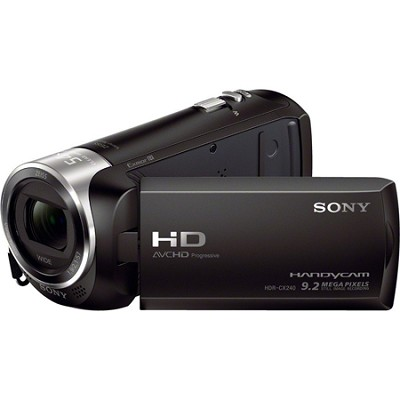 HDR-CX240/B Entry Level Full HD 60p Camcorder - Black - OPEN BOX