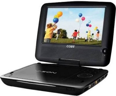 8.5` TFT Slim Portable DVD Player with Swivel Screen