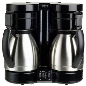 Krups F32442 - DuoThek 10-Cup Thermal Coffeemaker