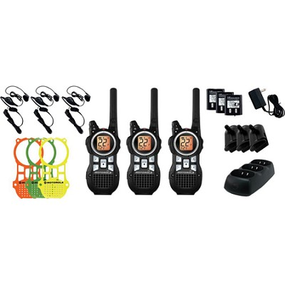 MR350TPR Talkabout 2-Way Radio Triple Pack