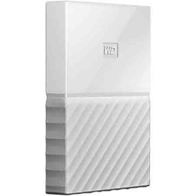 WD 3TB My Passport Portable Hard Drive - White