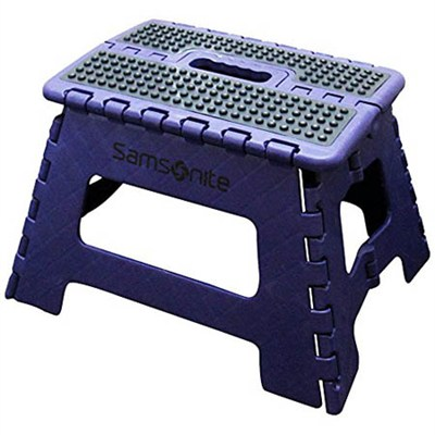 Folding Step Stool- Royal/Navy