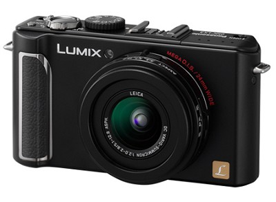 DMC-LX3K 10 MP Digital Camera with 2.5x Optical Zoom (Black)