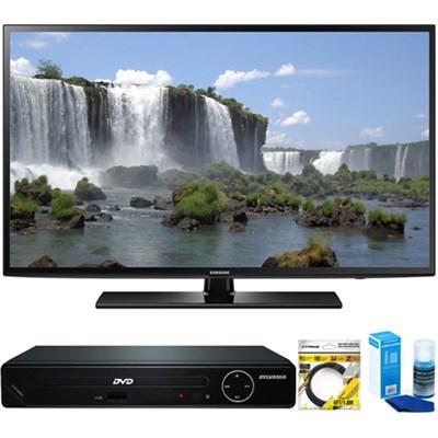 55-inch 1080p 120Hz Full HD LED Smart HDTV + HDMI DVD Player Bundle