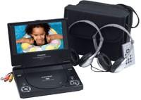 D1718  Portable 7` DVD Player