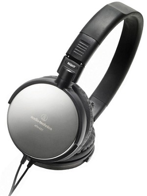 ATH-ES7 Portable Stainless Steel Headphones (Black)