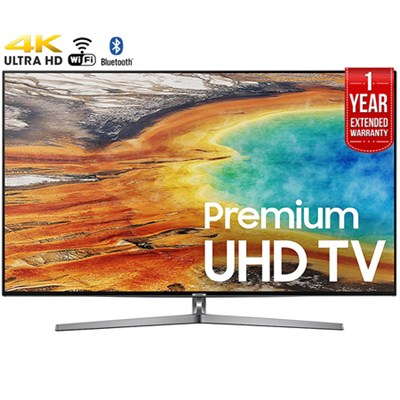 65` 4K Ultra HD Smart LED TV (2017)+1 Year Extended Warranty-Refurbished