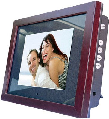 MV800 (8` LCD Display) Digital Photo Album, Video player, MP3 player and more...