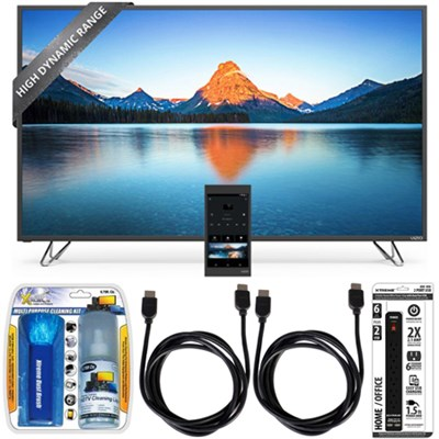 M65-D0 - 65-Inch 4K SmartCast M-Series Ultra HD HDR LED TV w/ Accessory Bundle