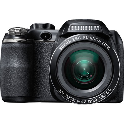 FinePix S8200 16 MP 40 X ZOOM Digital Camera with 3-Inch LCD (Black)