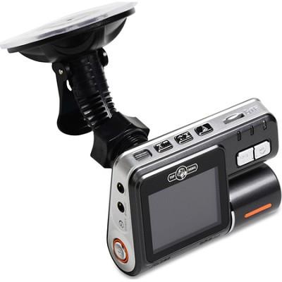 Dual Camera DVR Dash Camera - Black