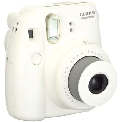 Instax 8 Color Instax Mini 8 Instant Camera - White