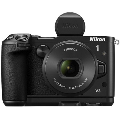 1 V3 Mirrorless 18.4MP Digital Camera with 10-30mm Lens - Black