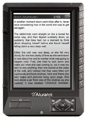 Libre eBook Reader Pro with 2GB SD (Black) OPEN BOX