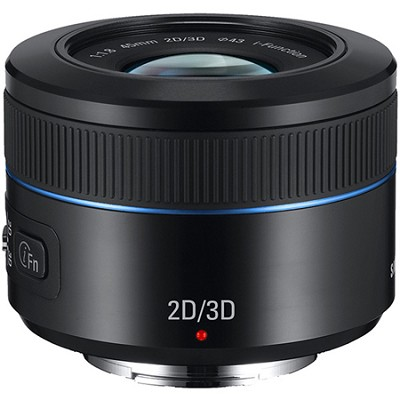 NX 45mm f/1.8 2D/3D Camera Lens - Black