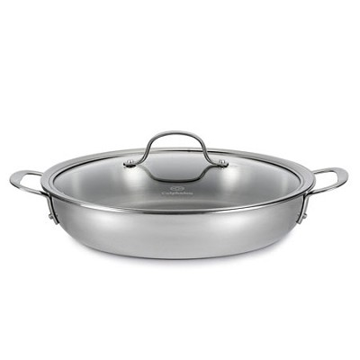 12` Tri-Ply Stainless Steel Everyday Pan and Cover - 1767725