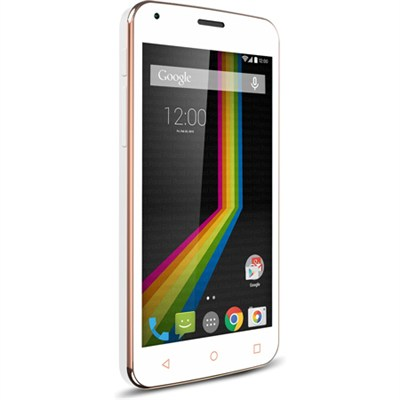 LINK A5 Unlocked Dual Core Smartphone with 5` Display (White) A5WH - OPEN BOX