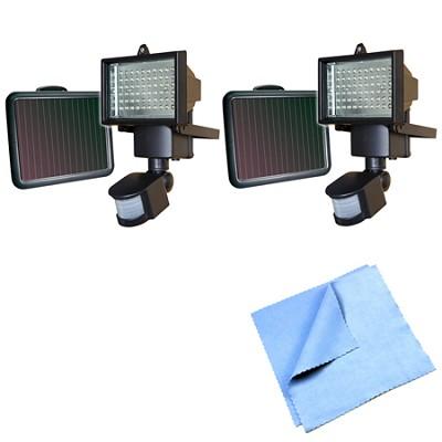 60 LED Solar Motion Light - 82156 2-Pack Bundle