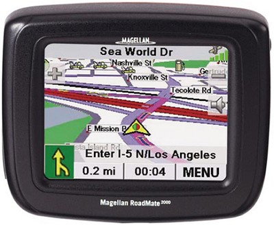 Roadmate 2000 Portable Car GPS Navigation System