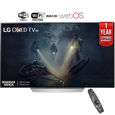 65` C7 OLED 4K HDR Smart TV (2017) + 1 Year Extended Warranty - Refurbished