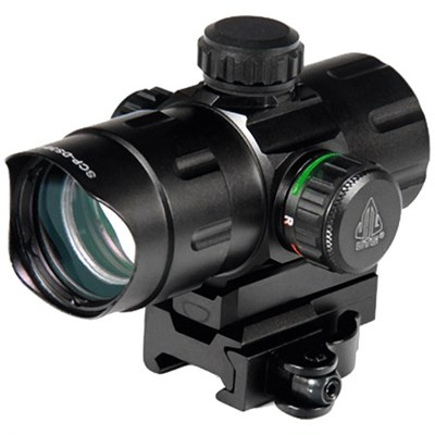 4.2` ITA Red/Green CQB Dot Sight with QD Mount, Riser Adaptor - SCP-DS3840W