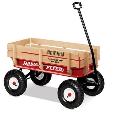 ATW All-Terrain Steel & Wood Wagon