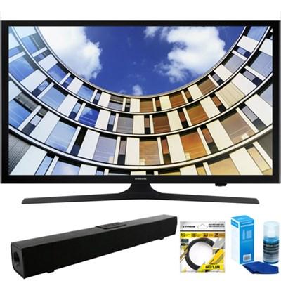 Flat 50-Inch 1080p LED SmartTV (2017 Model) + Bluetooth Sound Bar Bundle