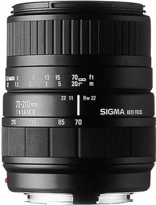 70-210mm F4-5.6 UC-II Lens for Nikon-AF Camera