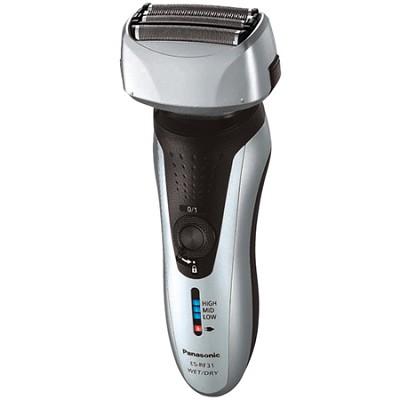 ES-RF31-S Men's 4-Blade (Arc 4) Wet/Dry Rechargeable Electric Shaver w/ Nanotech