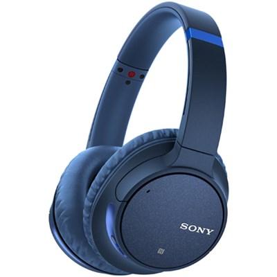 WH-CH700N Wireless Noise Canceling Bluetooth Headphones  - Blue WHCH700N/L