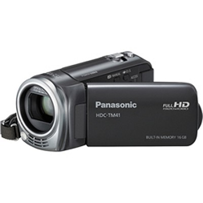 HDC-TM41H HD Camcorder with 16GB Internal Flash Memory - OPEN BOX