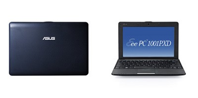 Eee PC 1001PXD-EU17-BU 10.1-Inch Netbook (Blue) - OPEN BOX