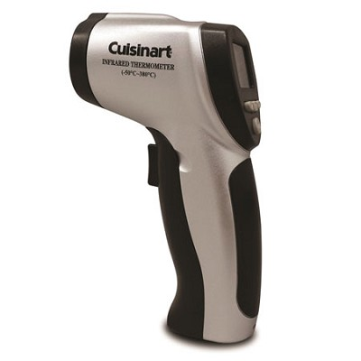 Infrared Surface Thermometer, Silver/Black - CSG-625