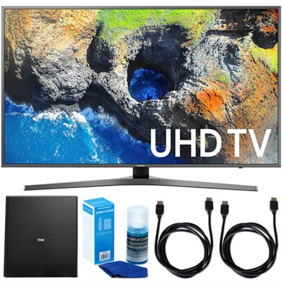 40` UHD 4K HDR LED Smart HDTV (2017 Model) w/ Terk Indoor Antenna Bundle