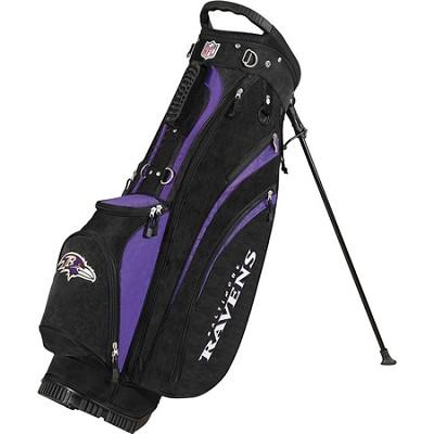 NFL Baltimore Ravens Golf Carry Bag