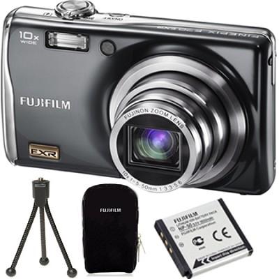 FinePix F70EXR 10MP Digital Camera Value Bundle :Case,Tripod and Extra Battery
