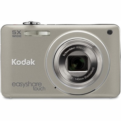 EasyShare Touch M5370 16MP 5x Zoom 3` Touchscreen LCD Silver Digital Camera