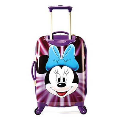 67612-4756 21` Hardside Spinner - Minnie Mouse Face