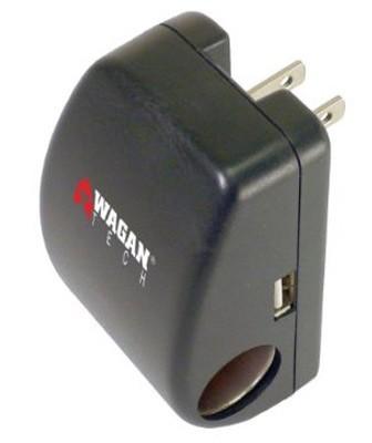 Smart Phone/PDA Travel's Adapter w/USB